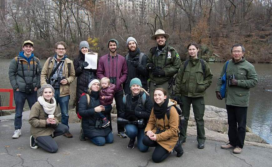 Central Park Audubon Christmas Bird Count 2019, The Southeast Team