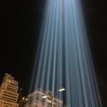 Tribute in Light Beams