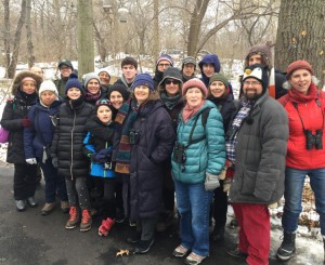 Central Park Bird Count 2017: The Ramble Team © Lynn Hertzog
